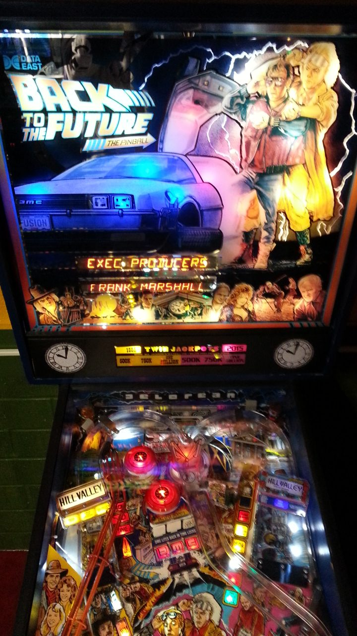 Back To The Future Pinball on Location at American Classic